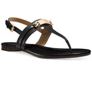 NWT COACH Caterine Logo Sandals Flats